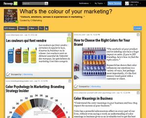scoop-it colour marketing