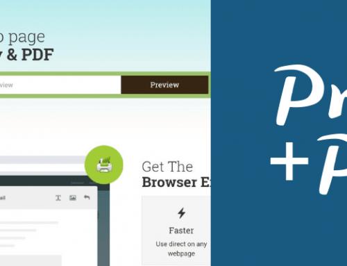 Print friendly & PDF : imprimez ou sauvegardez vos pages web