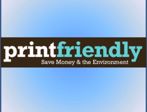 Printfriendly: optimisez l'impression de vos pages web