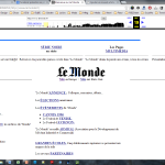 Le Monde 1996
