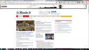Le Monde 2009