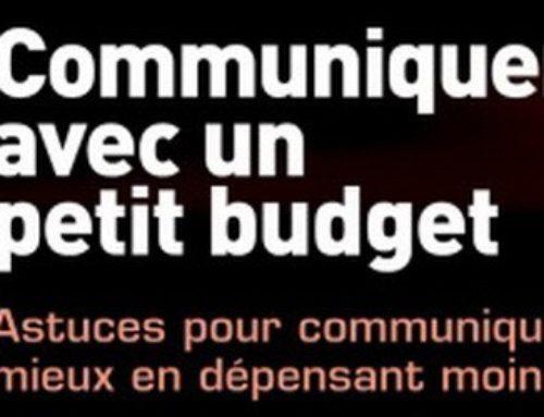 Communiquer avec un petit budget