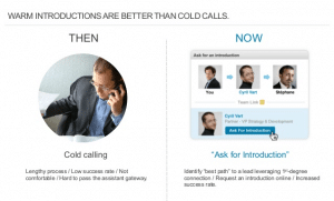 Cold call vs LinkedIn introduction