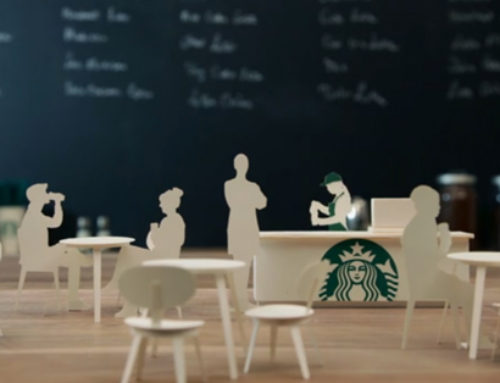 Starbucks: storytelling et stop-motion