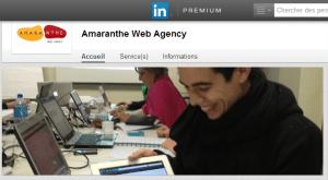 Présentation de Amaranthe Web Agency   LinkedIn