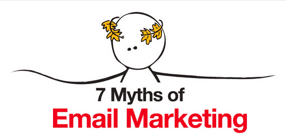 Debunking the 7 myths of email marketing – infographic   Email Worx - intro
