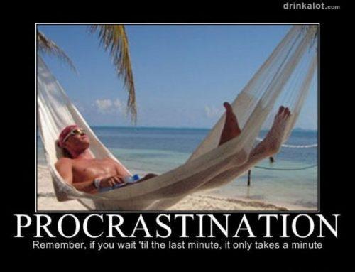 Procrastination: nocive ou salutaire pour l'entrepreneur ?