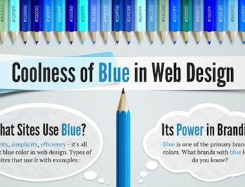 Ma marque est bleue … mais pourquoi ?
