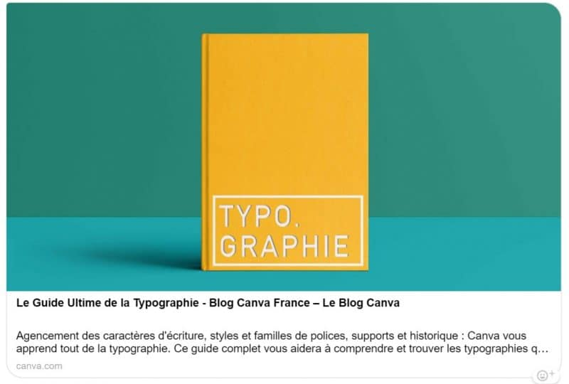Guide de la typographie - Blog Canva France