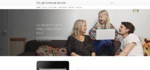 Centre de sécurité – Google