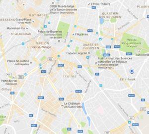 GoogleMaps - focus interest zones