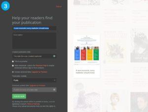 Issuu publishing