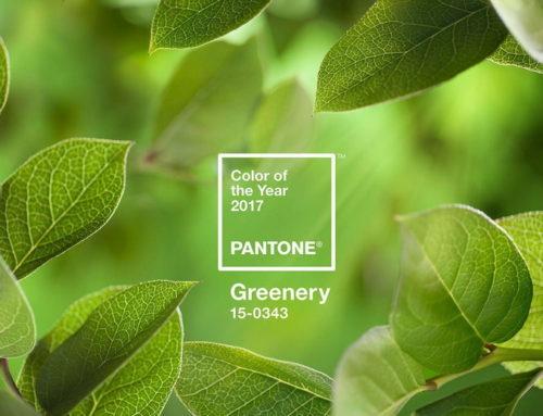 Greenery : la Couleur Pantone de l'Année