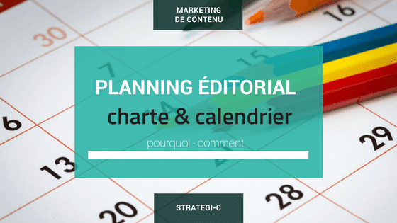 Planning éditorial