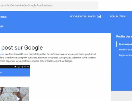 J'ai testé les Google Posts : un joli coup de pouce aux PME