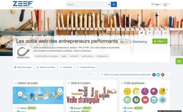 Page Zeef de C-Marketing
