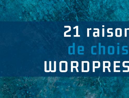 21 raisons de choisir WordPress pour le site d'une PME