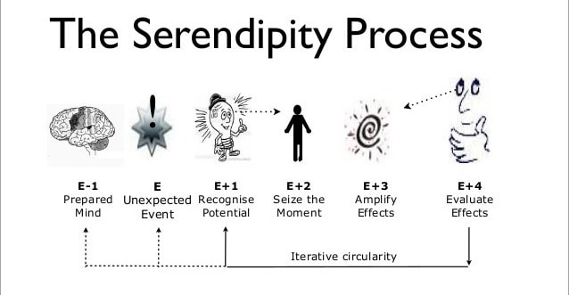 The serendipity process