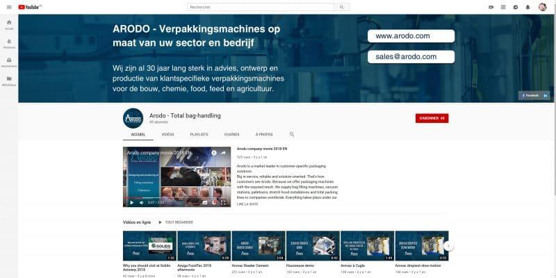 Exemple de Content marketing - Arodo
