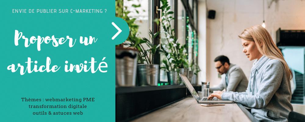 Proposer un article invité - C-Marketing