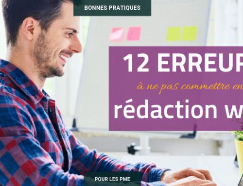 12 erreurs à ne pas commettre en rédaction web